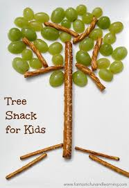 easy tree snack for