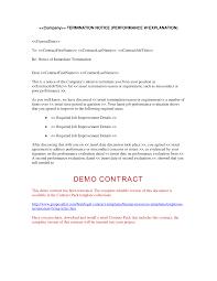 sample job termination letter free receipts