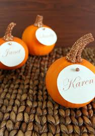 Thanksgiving Place Cards Craft 15 Thanksgiving Place Cards Diy Place Card Ideas For The Holidays