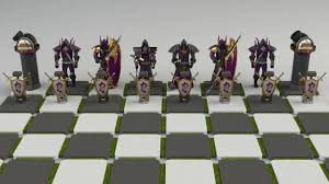 Cool Chess Pieces Warcraft Chess Set Youtube