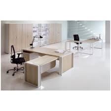 bureau droit bureau droit avec enjoliveur mélaminé open