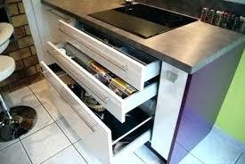 tiroir pour meuble de cuisine meuble bas tiroir coulissant cheap excellent cheap meuble a epice