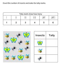 free worksheets tally worksheets for kindergarten free math