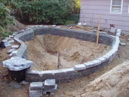 Making A Backyard Pond Backyard Pond Designs Small Yard Ponds And Waterfalls Outdoor