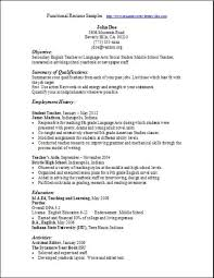 Functional Resumes Examples Free Resume Professional Templates Hobby Dance Essay Medical Essay