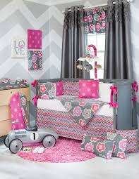 Nursery Bedding And Curtains Wonderful Crib Bedding For With Regard To Baby Crib