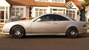 lowered amg mercedes cl cl55 w215 airmatic lowering links
