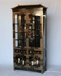 Images Of Curio Cabinets Black Lacquer Pagoda Curio Cabinet Furniture Pinterest