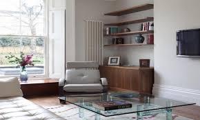 shelf decorating ideas floating shelves living room ledge unique