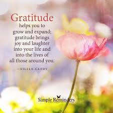 quotes on thanksgiving and gratitude gratitude helps you to grow and expand by eileen caddy achieving