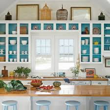 remove kitchen cabinet doors for open shelving teal cabinet paint color inspiration home decor home