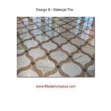 waterjet tile design 8 medallionsplus com floor medallions