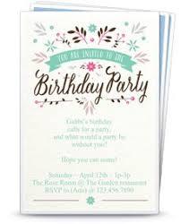 free printable birthday party invitation templates stationary