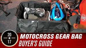 motocross helmet reviews best motocross gear bags 2017 youtube