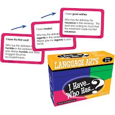 Accomplishments Antonym I Have Who Has Language Arts Game Grade 5 6 Tcr7832 Teacher