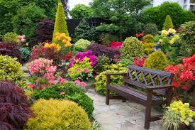 Photos Flowers Gardens by Home Flower Gardens Also Garden Flowers Trends Images