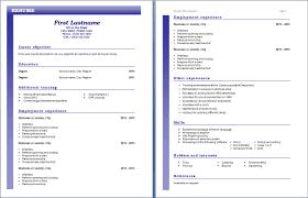 Oil Field Resume Templates Free Resume Template U2013 Page 2 U2013 Free Cv Template Dot Org