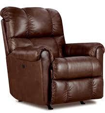 com lane furniture eureka recliner in savage cocoa brown kitchen dining