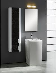 enthralling black gloss bathroom wall cabinet for floating vanity