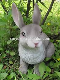 garden ornaments resin white rabbit statue buy white rabbit