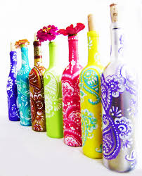 up cycled wine bottles perfect for home decor and gifts diy