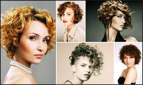 short hairstyle for curly hair 2017 womens haircuts for short
