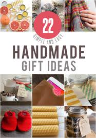 22 simple handmade gifts plus a 100 gift card giveaway