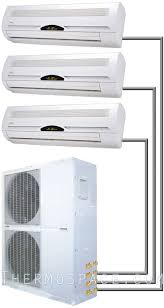 ductless mini split daikin 36000 btu tri zone ductless mini split air conditioner 3 ton