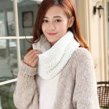 online buy wholesale white knit scarf from china white knit scarf