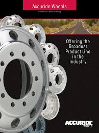 accuride wheels product catalog summer 2011 tire vehicles