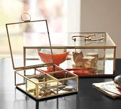 ava glass display wood desk ava glass display wood desk antique white pottery barn