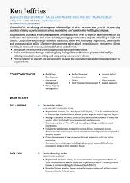 Key Competencies Resume Project Manager Cv Examples And Template