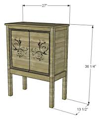 Free Diy Studio Furniture Plans by 41 Best Cabinets U0026 Consoles Images On Pinterest Consoles