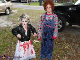 Chucky Halloween Costumes Chucky And Bride Of Chucky Halloween Costume Photo 2 5