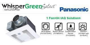 whisper green select fan panasonic fans whispergreen select modules about whispergreen