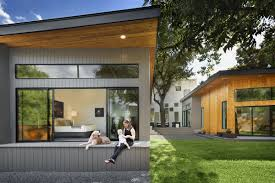 Courtyard Homes Floor Plans by Bold And Modern U Shaped Courtyard House Designed Around Trees