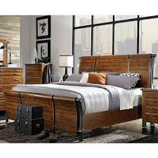 aspen home beds rockland i58 king sleigh bed king from ernie u0027s