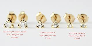 what size diamond earrings best size diamond stud earrings diamond earring size chart pearl