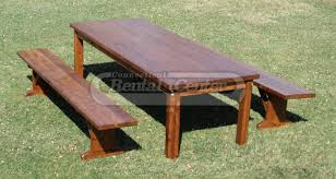 rent farm tables with benches from ct rental center