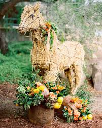 Horse Topiary 100 Horse Topiary Horse Topiary Frame Only Moss Filled Five