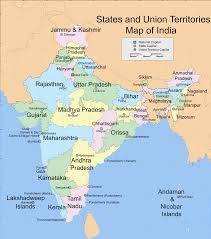 India Map With Cities by India Map With States And Cities Names I7 Svg
