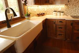kitchen cabinets with farm sink sinks and faucets gallery