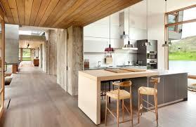 cuisine en bois moderne image de cuisine contemporaine 9 bois en 75 propositions design