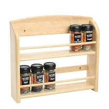 Wall Mount Spice Rack With Jars 12 Jar Wall Mounted Spice Rack