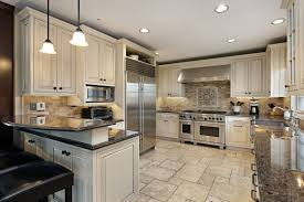 luxury kitchen design with off white painting kitchen cabinet las