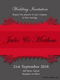 Marriage Invitation Card Free Online Wedding Invitation Cards Festival Around The World