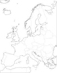 Blank Map Of Brazil by Www Mappi Net Maps Of Continent Europe