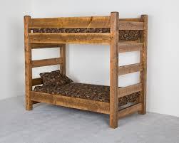 Wood Bunk Bed Plans Wood Bunk Bed Designs Wooden Viking Log Furniture Beds Idolza