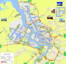 belgium city map port of antwerp map