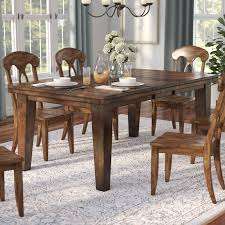 extendable dining room table three posts spencerville extendable dining table reviews wayfair